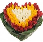 Сердце из цветов Киев