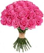 Букет из розовых роз под заказ Киев