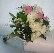 Букет для бросания из роз