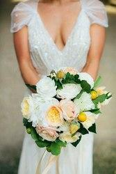Украшение свадьбы цветами и декором