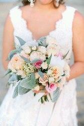 Свадьба с живыми цветами
